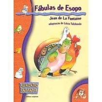 Livro Fábulas De Esopo Jean De La Fontaine Editora Scipione