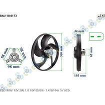 Ventoinha Radiador Peugeot 206 1.0 16v 05/01... - Bauen