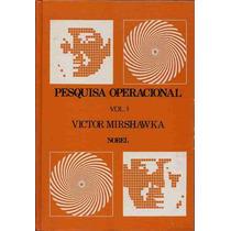 Livro - Pesquisa Operacional Vol.3 - Vitor Mirshawka