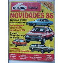 Revista Quatro Rodas N-302 Santana Cd Monza Caravan Belina