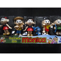 06 Bonecos Da Turma Da Monica Bolo Festa Aniversario