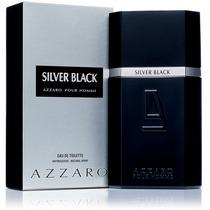 Perfume Masculino Azzaro Silver Black 100ml Edt Original