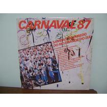 Disco Lp Vinil Sambas Enredo Porto Alegre Carnaval 1987