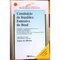 Constituição Da República Federativa Do Brasil - C. Saraiva