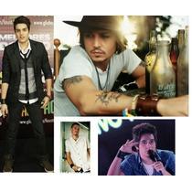 Pulseira Bracelete Couro Celebrity Collection Luan Santana