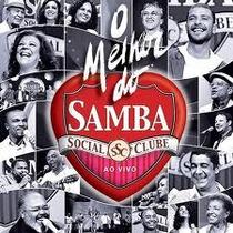 Dvd Melhor Do Samba Social Clube Ao Vivo