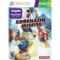 Jogo Adrenalin Misfits Xbox 360 Americano Lacrado Pra Kinect