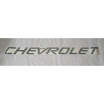 Faixa Chevrolet Preto -s10 Luxo Mmf Auto Parts