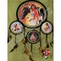 Filtro Dos Sonhos Xamã Dreamcatcher Indígena Lobo Totem