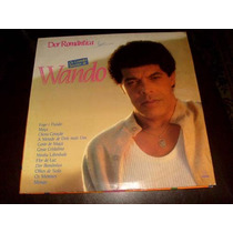 Lp Vinil Wando Dor Romantica - Os Grandes Sucessos De Wando