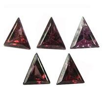 Lote Com 5 Rodolitas Naturais Africanas Triângulo 153pontos