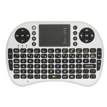 Mini Teclado Sem Fio Wireless 2.4ghz Com Touchpad Google Pc