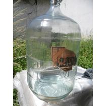 Garrafão De 20 Litro Água Em Vidro Anos 60 Rarissimo E Lindo