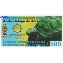* Galapagos Antartica 500 Nuevos Sucres 2011 - Polimero Fe*