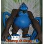 Ben 10 Boneco Em Borracha Macaco Aranha Supremo