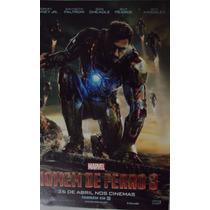 Poster Homem De Ferro 3 - Tony Stark - 30 Cm X 21cm
