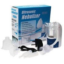 Inalador Nebulizador Ultrassonico Portátil + Plug Carro