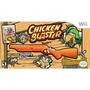 Box Chicken Blaster Para Nintendo Wii Jogo + Arma Blaster 20