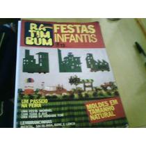 Revista Festas Infantis Ra Tim Bum N°13 Editora Três