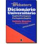 Novo Dicionário Universitário Websters Inglês / Portugu