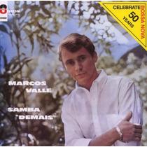 Cd Marcos Valle - Samba Demais - 1963 - Novo/lacrado
