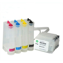 Bulk Ink Completo Hp 7110 7610 C/ Cartuchos E Chips 933 932