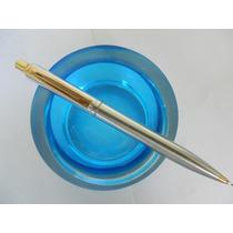052-lapiz Sheaffer , Aço E Ouro,sem Uso,usa
