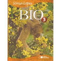 Livro Bio Volume 3 1ª Edição 2006 Sônia Lopes