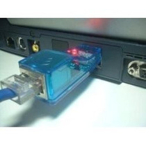 Placa Rede Portatil Usb Adaptador Lan Ethernet 10/100mb Rj45