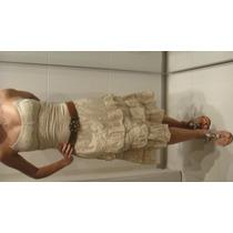 Lindo Vestido Com Rendas E Tule Na Saia, Woller