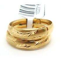Joalheriavip Anéis Aparadores Aliança Ouro 18k Frete Grátis