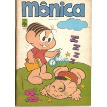 Mônica - Lote Com 10 Gibis 21, 25, 28, 29, 30, 26, 27, 62