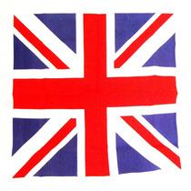 Lenço Bandana 100% Algodão Bandeira Inglaterra-ln031a