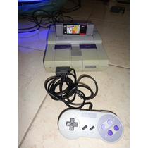 Console Super Nintendo+ Cabo Rf 1 Controle 1 Fita Zé Colmeia