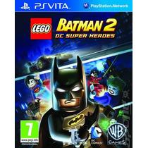 Lego Batman 2 Dc Super Heroes Ps Vita Psvita - Frete Grátis
