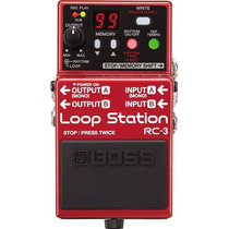 Pedal Boss Loop Station Rc-3 - Boss Rc3 Rc 3 - Looper - Novo