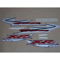 Kit Adesivos Honda Xr 250 Tornado 2005 Preta - Decalx