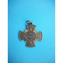 Antiga Medalha Comemorativa 300 Anos Da Morte De São Vicente