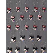 40 Lembrancinhas* Rostinho Mickey E Minnie Baby* Biscuit