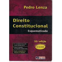 Livro Direito Constitucional Esquematizado Pedro Lenza