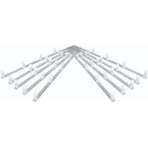 Kit C/ 10 Hastes De Alumínio Tipo M Cerca Elétrica 75 Cm