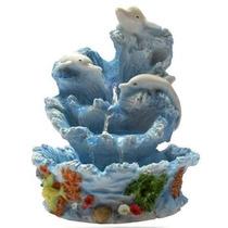 Fonte De Água Feng Shui Golfinho - Parcele