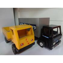 2 - Caminhões De Madeira - Ford / Fnm