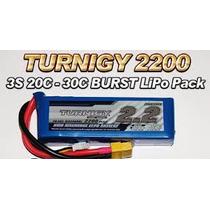 Bateria Turnigy Lipo 11.1v 2200mah 20c 3s T-rex 450 Jr Hk
