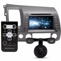 Kit Central Multimidia New Civic Dvd Tv Gps Camera Bluetooth