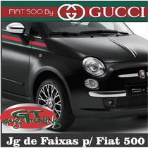 Faixa Adesiva Personalizada P/ Fiat 500 ( Modelo By Gucci )