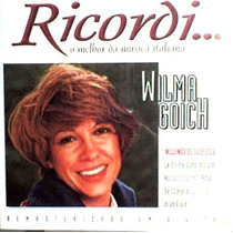 Cd / Wilma Goich = Ricordi, O Melhor Da Música Italiana