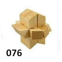 Quebra Cabeça Puzzle De Madeira Desafio