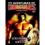 As Aventuras De Hércules (1985) Dvd Raro Cult Lou Ferrigno