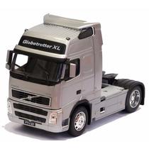 Miniatura Caminhão Volvo Fh 12 Prata